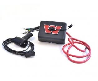 Блок управления WARN M9/12 в сборе, с пультом и проводами, 12В