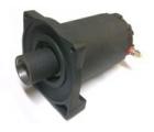 Запасной электромотор в сборе с боковиной для лебедки СТОКРАТ QX 4.0 нового образца