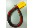Провод питания для лебедки СТОКРАТ STO SN 4.5 S с разъемом и клеммами (18 кв. мм)