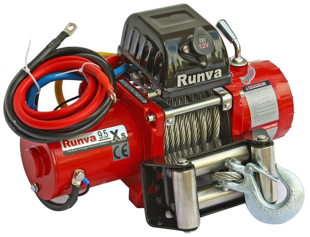 Лебедка Runva 9.5Xs с укороченным барабаном для Нивы 2121