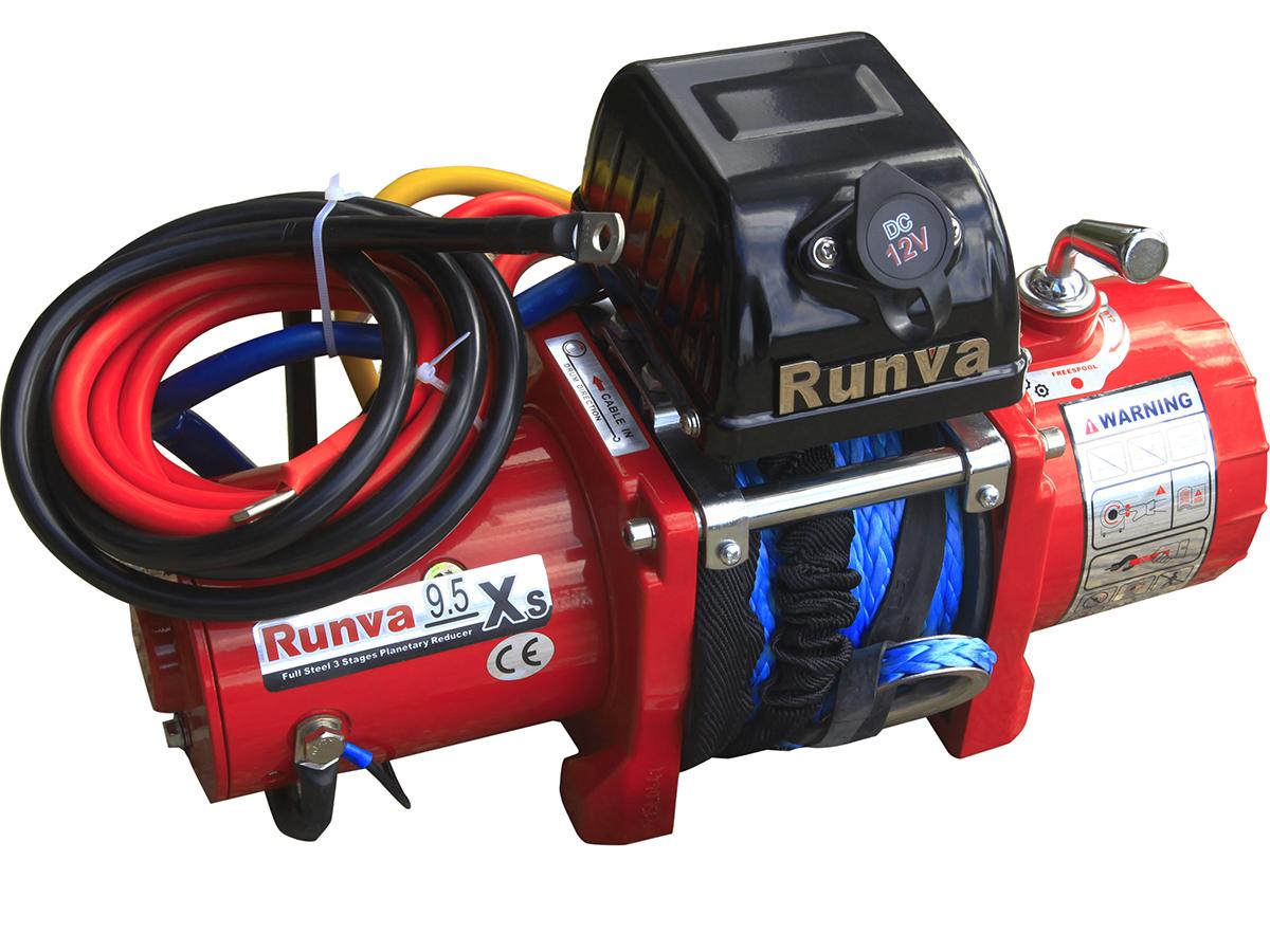 Лебедка Runva 9.5Xs с укороченным барабаном для Шевроле нивы
