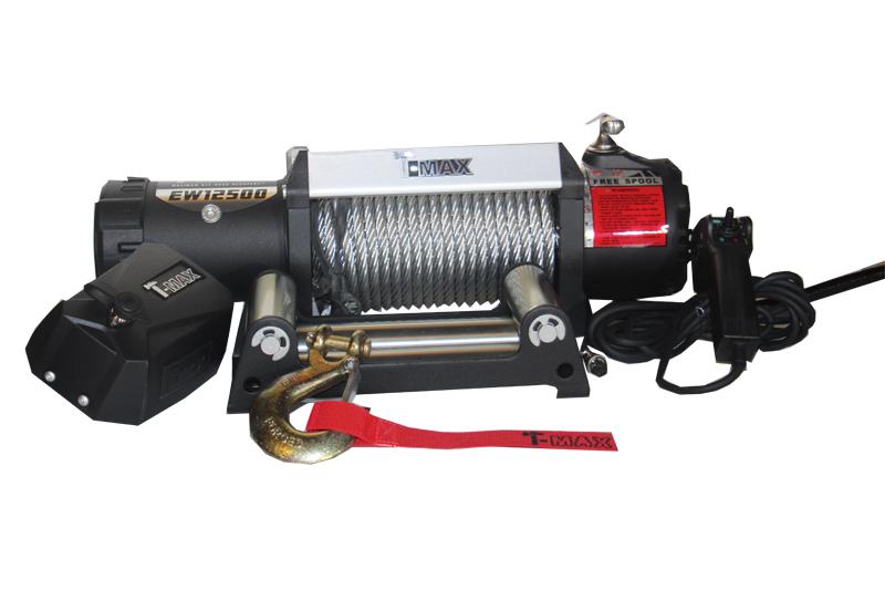 Лебедка T-MAX 6500 для Нивы 2121