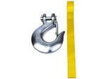 Крюк с лентой защиты для рук Лебедки Автоспас ЛПЭ81И 24V Бизон